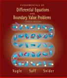 Fundamentals of Differential Equations and Boundary Value Problems, Nagle, R. Kent and Saff, Edward B., 0321145712