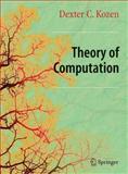 Theory of Computation, Kozen, Dexter C., 1849965714