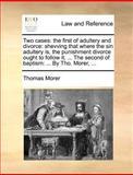 Two Cases, Thomas Morer, 114069572X