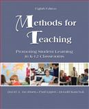 Methods for Teaching : Promoting Student Learning in K-12 Classrooms, Jacobsen, David A. and Eggen, Paul D., 0135145724