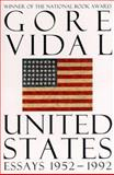 United States, 1952-1992, Gore Vidal, 0679755721