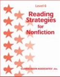 Reading Strategies for Nonfiction : Level 6, , 076090572X