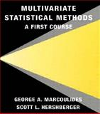 Multivariate Statistical Methods 9780805825725