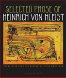 Selected Prose of Heinrich Von Kleist, Heinrich von Kleist, 098195572X