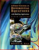First Course in Differential Equations with Modeling Applications 9780534955748