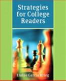 Strategies for College Readers (with MyReadingLab Student Access Code Card), Krieg, Elaine G., 0205685757