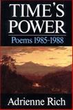 Time's Power, Adrienne Rich, 0393305759
