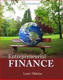 Entrepreneurial Finance, Leach, J. Chris and Melicher, Ronald W., 1285425758