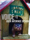 Voice User Interface Design, Cohen, Michael H. and Giangola, James P., 0321185765