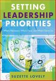 Setting Leadership Priorities 9781412915762
