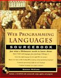 Web Programming Languages Sourcebook, Gordon McComb, 0471175765