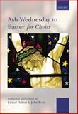 Ash Wednesday to Easter for Choirs, , 0193355779
