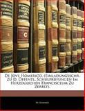 De Jove Homerico. (Einladungsschr. Zu D. Öffentl. Schulprüfungen Im Herzoglichen Francisceum Zu Zerbst)., Hammer, 1141845776