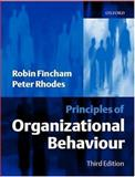 Principles of Organizational Behaviour, Fincham, Robin and Rhodes, Peter S., 0198775776