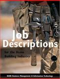 Job Descriptions for the Home Building Industry, , 0867185775