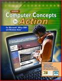 Computer Concepts in Action : For Microsoft Office 2007 and Windows Vista, Haag, Stephen E. and Glencoe McGraw-Hill Staff, 0078805775