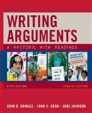 Writing Arguments, Concise Edition : A Rhetoric with Readings, Ramage, John D. and Bean, John C., 0205665772