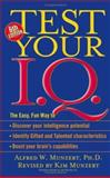 Test Your IQ, Alfred W. Munzert and Kim Munzert, 0743475771
