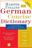 HarperCollins German Concise Dictionary, HarperCollins Publishers, 0060575778