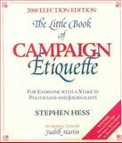 The Little Book of Campaign Etiquette 9780815735779