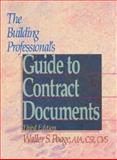 Building Professional's Guide to Contract Documents, Waller S. Poage, 0876295774