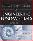 Eshbach's Handbook of Engineering Fundamentals, Kutz, Myer, 0470085789