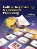 Gregg College Keyboarding and Document Processing, Ninth Edition, Internet Ready/Home Version Kit 1 for Word 2000 (Lessons 1-60), Ober, Scot, 0078275784