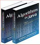 Bundle of Algorithms in Java : Fundamentals, Data Structures, Sorting, Searching and Graph Algorithms, Sedgewick, Robert, 0201775786