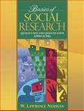 Basics of Social Research : Quantitative and Qualitative Approaches, Neuman, William Lawrence, 0205355781