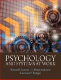 Psychology and Systems at Work, Lawson, Robert B. and Anderson, E. Doris, 0205735789