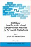 Molecular Low Dimensional and Nanostructured Materials for Advanced Applications, , 1402005784