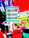 Handbook of Organic Solvent Properties, Smallwood, Ian, 0340645784
