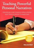 Teaching Powerful Personal Narratives, Mary Jane Reed, 0929895789