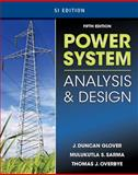 Power System Analysis and Design 9781111425791