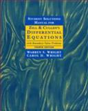 Differential Equations with Boundary Value Problems, Zill, Dennis G. and Cullen, Michael R., 0534955797
