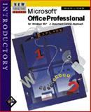 Microsoft Office Professional for Windows 95 Integrated - Introductory, Adamski, Joseph J. and Adamski, Judy, 0760035792