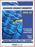 Advanced Organic Chemistry for University of Maryland Eastern Shore, Crabtree, Robert H., 0470955791