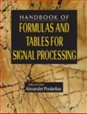 The Handbook of Formulas and Tables for Signal Processing, Poularikas, Alexander D., 0849385792