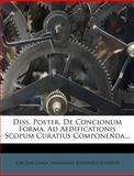 Diss. Poster. de Concionum Forma, Ad Aedificationis Scopum Curatius Componenda..., Joachim Lange, 1272505804