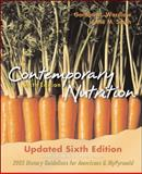 Contemporary Nutrition Update, Wardlaw, Gordon M. and Smith, Anne M., 0073225800