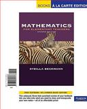 Mathematics for Elementary Teachers, Beckmann, Sybilla, 0321645804