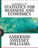 Essentials of Statistics for Business and Economics with Data Files, Anderson, David Ray and Sweeney, Dennis J., 0324145802