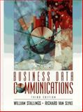 Business Data Communcation, Stallings, William and Van Slyke, Richard, 013594581X