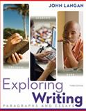 Exploring Writing: Paragraphs and Essays W/ Connect Writing 2. 0, Langan, John, 1259135810