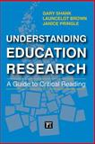 Understanding Education Research, Gary Shank and Jan Pringle, 1612055818