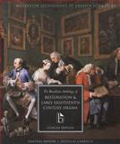 The Broadview Anthology of Restoration and Early Eighteenth-Century Drama 9781551115818