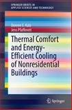 Thermal Comfort and Energy-Efficient Cooling of Non-Residential Buildings, Kalz, Doreen and Pfafferott, Jens, 3319045814