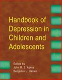 Handbook of Depression in Children and Adolescents, , 1593855826