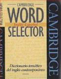 Cambridge Word Selector Inglis-Espaqol, Michael McCarthy, 0521425824
