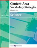 Content-Area Vocabulary Strategies for Science, Walch Publishing Staff, 0825145821
